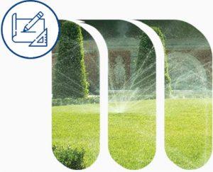 Progettazione e realizzazione impianti di irrigazione domestica.